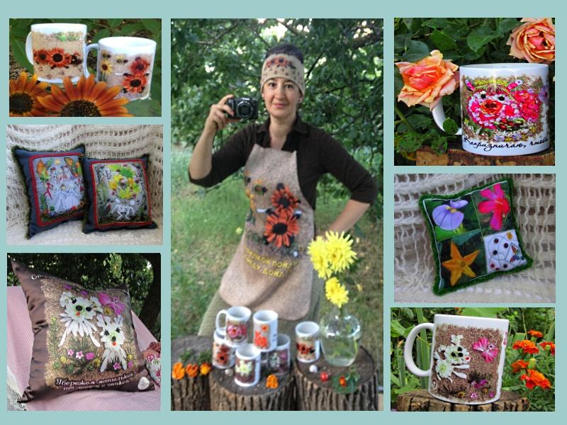 Фото-флорист Я. Темиргоева и её принты на изделиях