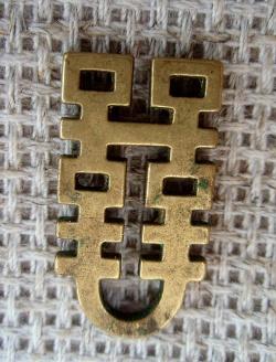 Решеточка чаша из желтого металла