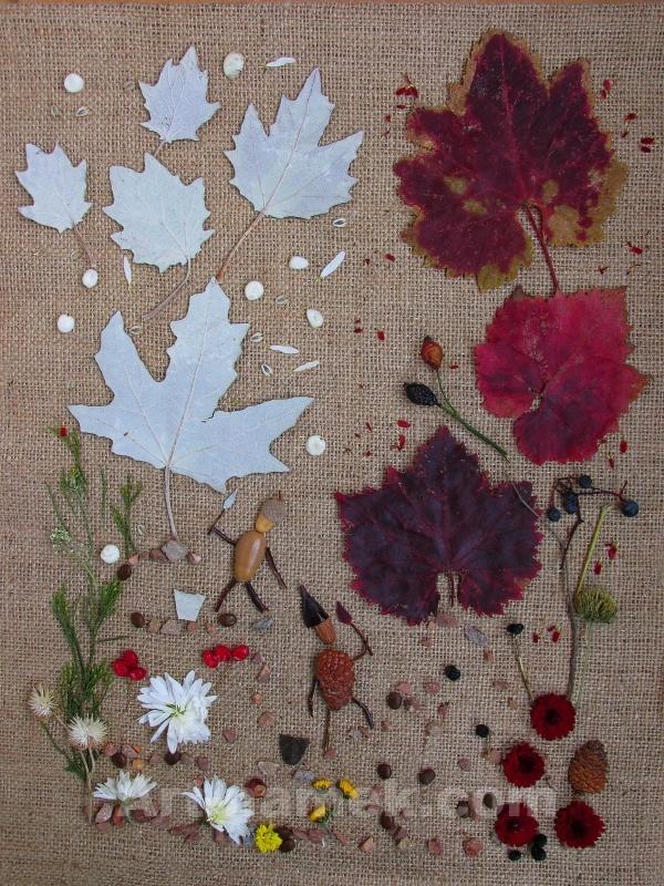 Оптимист и пессимист красят листья в светлые и тёмные тона